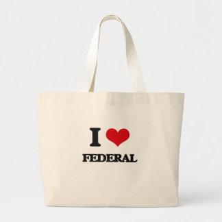 I love Federal Canvas Bags
