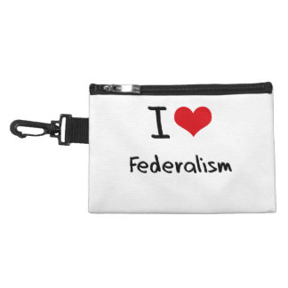 I Love Federalism Accessories Bag