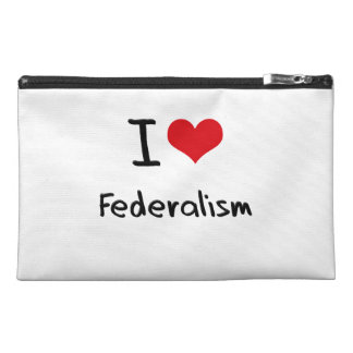 I Love Federalism Travel Accessories Bags