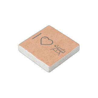 I Love Female Sexies Stone Magnet