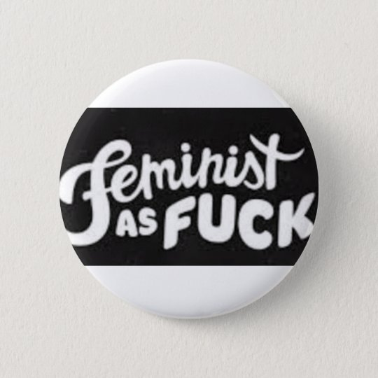 i love feminism 6 cm round badge