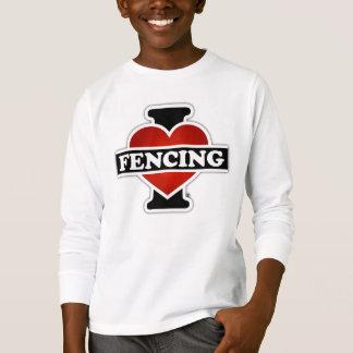 I Love Fencing T-Shirt