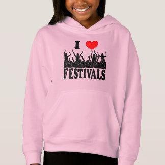 I Love festivals (blk)