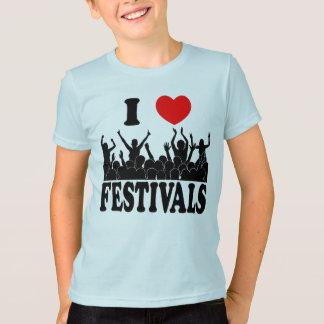 I Love festivals (blk) T-Shirt