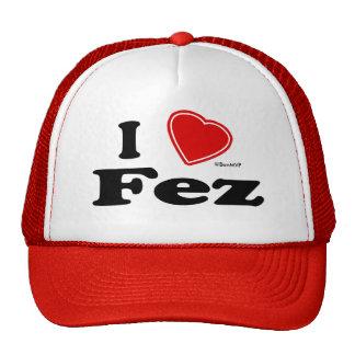I Love Fez Cap
