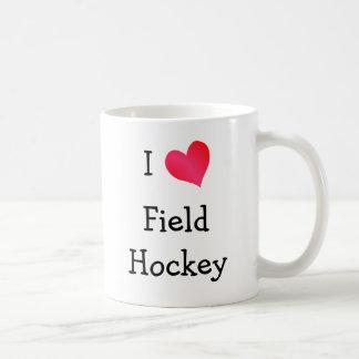 I Love Field Hockey Coffee Mug