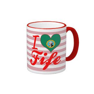 I Love Fife, Washington Mugs