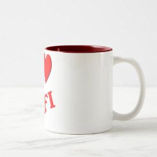 I Love Fifi Coffee Mugs