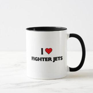 I love Fighter jets Mug