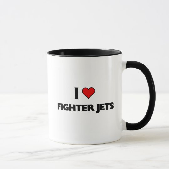 I love Fighter jets Mug