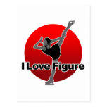 I Love Figure 葉書き