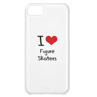 I Love Figure Skaters Case For iPhone 5C