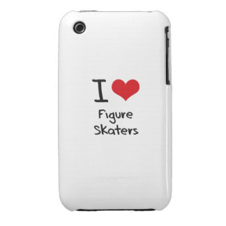 I Love Figure Skaters iPhone 3 Cover