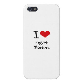 I Love Figure Skaters iPhone 5/5S Cover