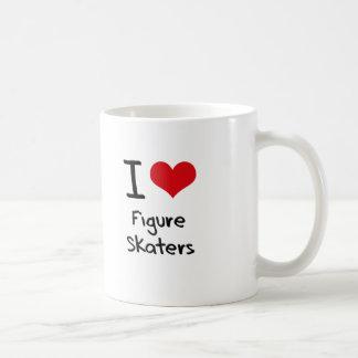 I Love Figure Skaters Mug