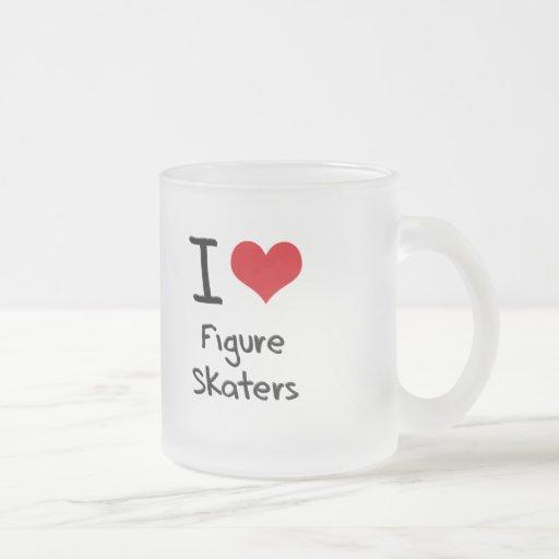 I Love Figure Skaters Coffee Mugs