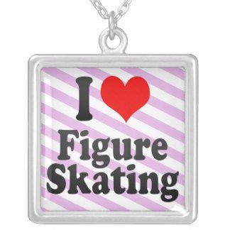 I love Figure Skating Necklace