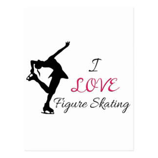 I Love Figure Skating Postcards
