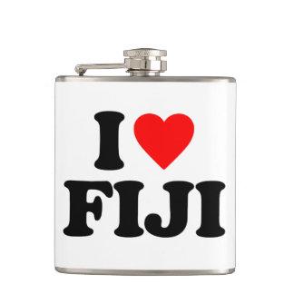 I LOVE FIJI HIP FLASK