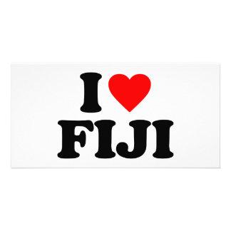 I LOVE FIJI PHOTO CARD