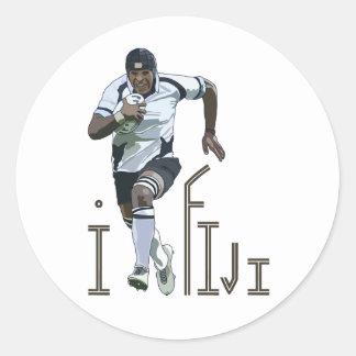 I LOVE FIJI sticker