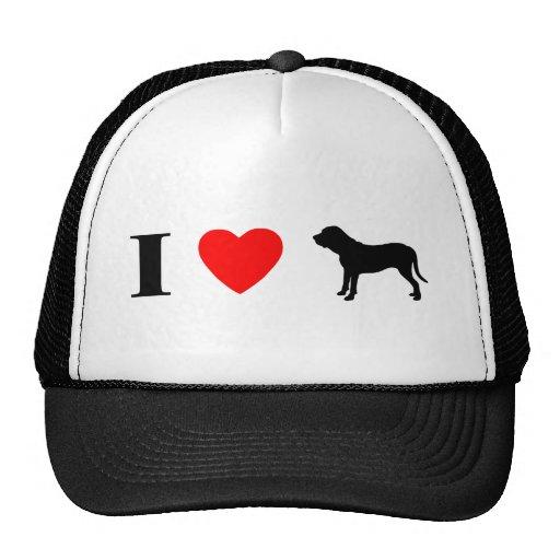 I Love Fila Brasileiros Trucker Hat