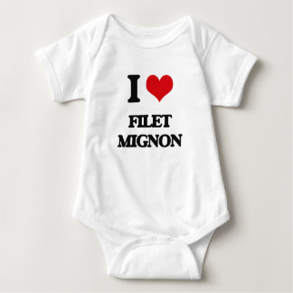 I love Filet Mignon Baby Bodysuit