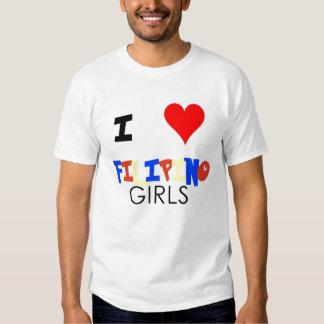I love filipino girls t shirt