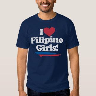 I Love Filipino Girls - White Shirt