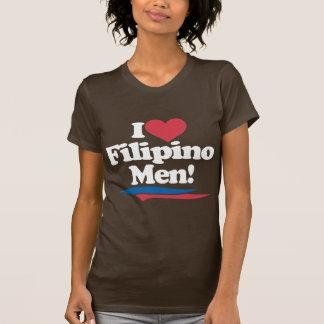 I Love Filipino Men - White Shirts