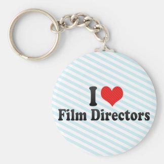 I Love Film Directors Key Chain