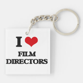 I love Film Directors Acrylic Keychains