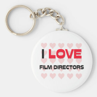 I LOVE FILM DIRECTORS BASIC ROUND BUTTON KEY RING