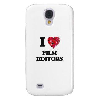 I love Film Editors Galaxy S4 Case