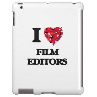 I love Film Editors iPad Case