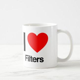 i love filters coffee mug