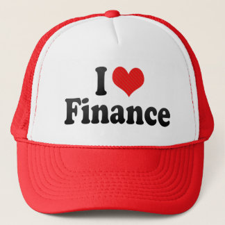 I Love Finance Trucker Hat