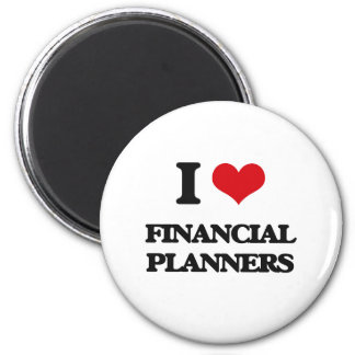 I love Financial Planners Magnets