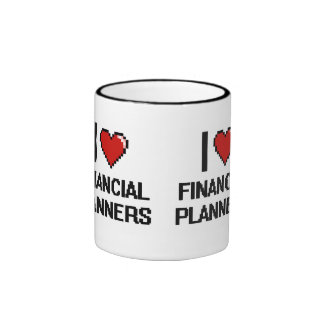 I love Financial Planners Ringer Mug