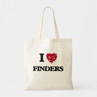 I Love Finders Budget Tote Bag