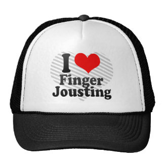 I love Finger Jousting Trucker Hats
