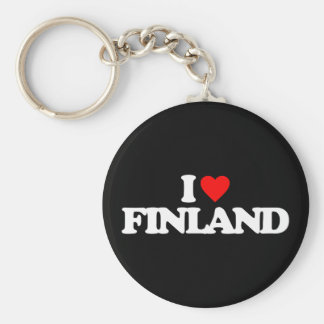 I LOVE FINLAND KEY RING