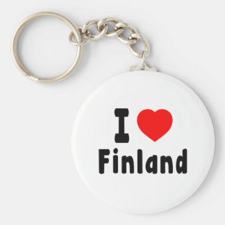 I Love Finland. Key Ring