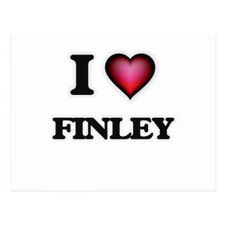 I Love Finley Postcard