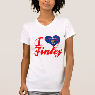 I Love Finley, Wisconsin Tshirts