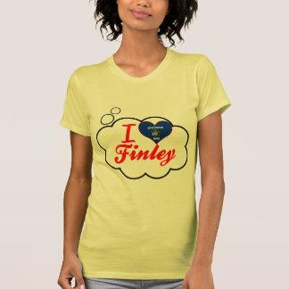 I Love Finley, Wisconsin Shirt
