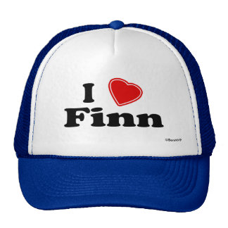 I Love Finn Hat