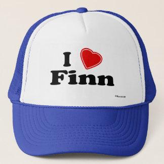 I Love Finn Trucker Hat