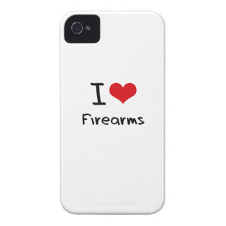 I Love Firearms iPhone 4 Case