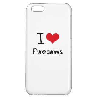 I Love Firearms Case For iPhone 5C